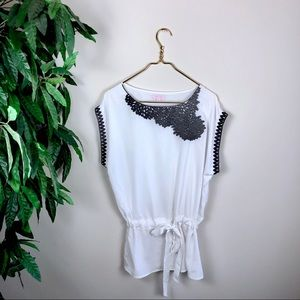 Romeo & Juliet Couture • Embroidered Blouse.